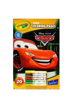 Crayola Boyama Defteri - Disney Cars 55519
