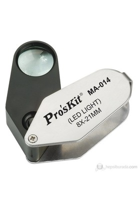Pro's Kit Ma-014 Işıklı Büyüteç