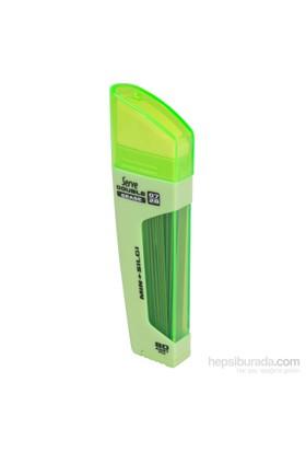 Serve Double Erase Min+Silgi 0,7 Elma Yeşili 10 Lu Sv-Dsmey07