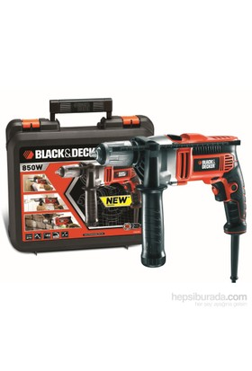Black&Decker KR806K 850Watt Darbeli Matkap