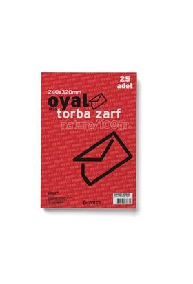 Oyal Torba Zarf(24X32)Ntra100gr-Slk-25Li