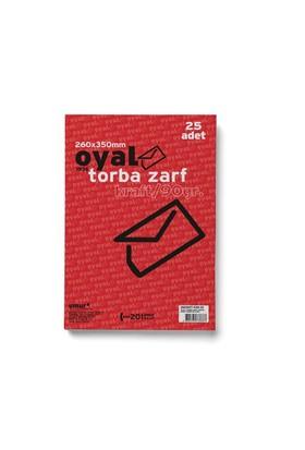 Oyal Torba Zarf(26X35)Krft 90Gr-Slk-25Li