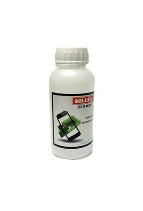 Soldex Reçinesiz Şeffaf Sıvı Likid Flux 250Ml. No Clean