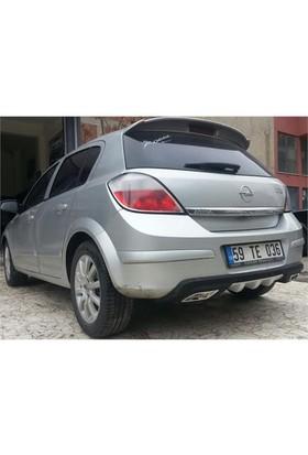 Opel Astra H Arka Tampon Difüzör