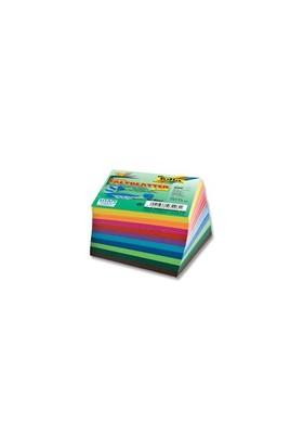 Folia Origami Kağıdı Midi 7.5X7.5 Cm. 10 Renk 500 Adet