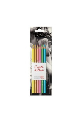 Conte A Paris Pastel Kalem 6'Lı Pastel Renkler 50114