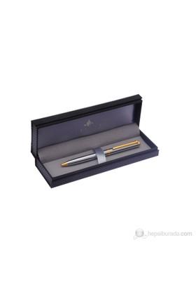 Steelpen Parlak Krom Gold Tükenmez Kalem T290