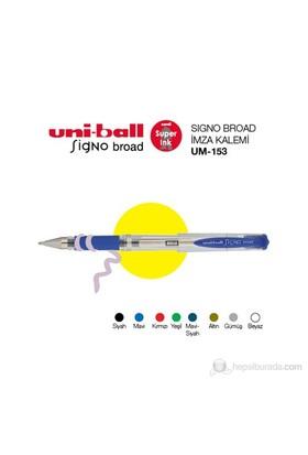 Uni-ball Signo Broad İmza Kalemi 1,0 1'li (UM-153)-Siyah