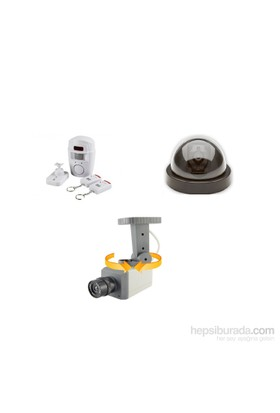 Angel Eye Hareket Sensörlü Sahte Kamera Ve Kablosuz Hırsız Alarmı Seti Model1