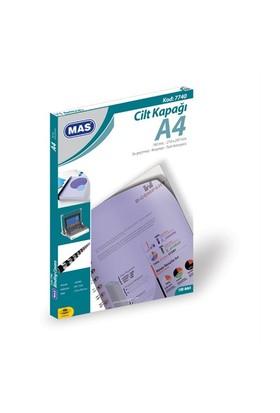 Mas A4 Mavi Cilt Kapağı 7740