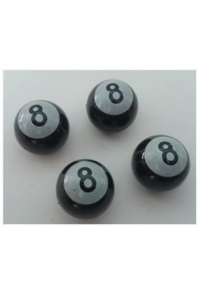 4Lü Bilardo Sibop Kapağı Siyah