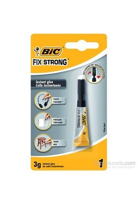 Bic Fix Strong Süper Güçlü Japon Yapıştırıcısı 3 gr 1'li Blister