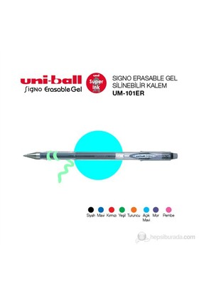 Uni-ball Signo Erasable Gel Silinebilir Kalem 0,5 1'li (UM-101ER)