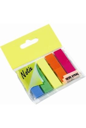 Notix Neon Ayraç 5 Renk 125 Yp. (N-NA-FP)