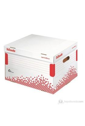 Leitz Esselte Speedbox Klasör İçin Arşiv Kolisi Beyaz-Kırmızı 623914
