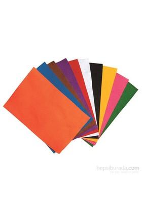 Nova Color Nc-421 Keçe Yapışkanlı 20x30 cm 10 Renk Karışık Set Fon Kartonu