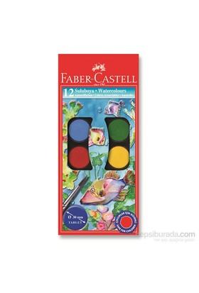 Faber-Castell Suluboya, 12 Renk Büyük Boy