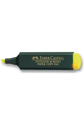 Faber-Castell Fosforlu Kalem Sarı (5030154807) 10 lu