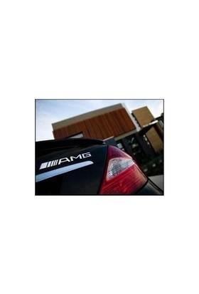 Mercedes Amg Bagaj Logosu Krom