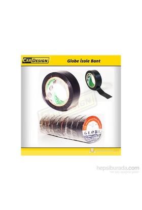 CRD Globe 19 mm İzole Bant Siyah (Orijinal)