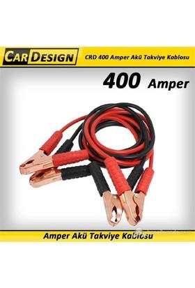 CarDesign 400 Amper Akü Takviye Kablosu