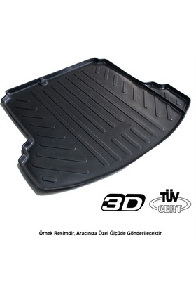 ByLizard Jeep Renegade 3D Bagaj Havuz Paspası 2014/üzeri