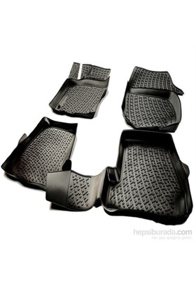 L.Locker Bmw 4 Serisi F33 2013 Sonrası 3D Havuzlu Paspas (Siyah)