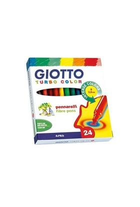 Giotto Turbo Color Keçeli Kalem 24'Lü Kutu 417000