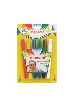 Monami Yüz Boyası 6 Renk Normal Myb06