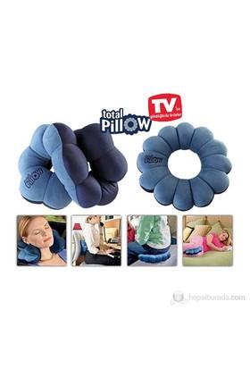 "Buffer Pillow Mikro Boncuklu Yumuşak Yastık Simit Total Pillow"""