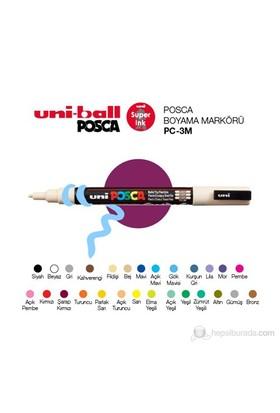 Uni Posca Boyama Markörü 3M 1'li (PC-3M)