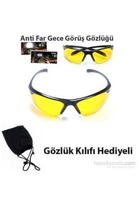 Borup 5 in 1 Anti Far GECE Sürüş Gözlüğü ( Yeni Model )