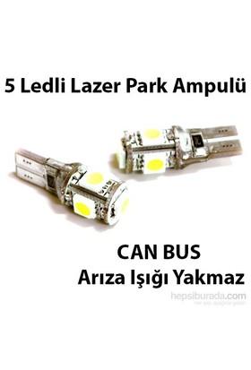 CAN BUS 5 ledli Park Ampülü Lazer (Arıza Işığı Yakmaz)