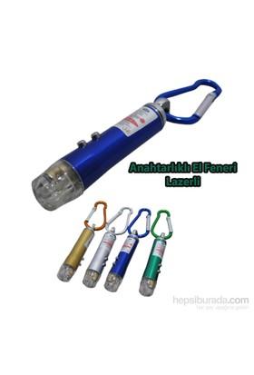 Borup Lazer Ve Fener Anahtarlık (2 İn 1)
