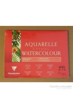 Clairefontaine Resim Defteri Etival Watercolor Suluboya 24X32 300Gr 30 Sayfa 93432