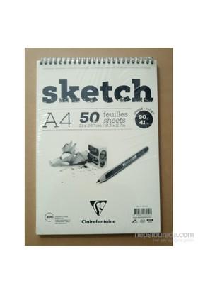 Clairefontaine Resim Defteri Sketch A4 90Gr 50 Yaprak 96159