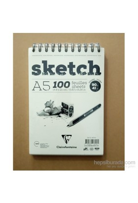Clairefontaine Resim Defteri Sketch A5 90Gr 50 Yaprak 96158