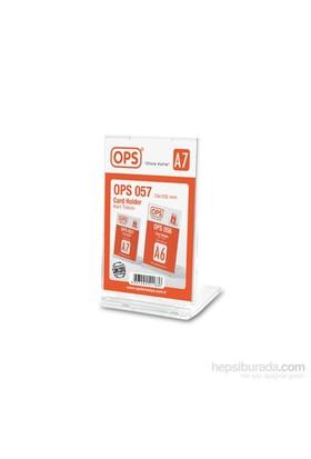 Ops OPS057 A7 Kart Tutucu (Şeffaf)