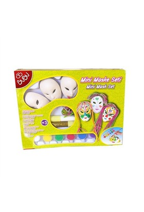 Bu-Bu Mini Maske Seti 3 Lü As0001