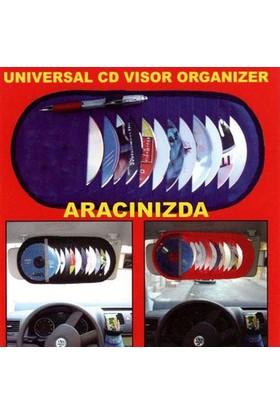 Typer 12 Li Güneşlik Cd,Kartvizin,Kalem Organizer Kırmızı | 115097