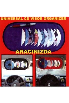 Typer 12 Li Güneşlik Cd,Kartvizin,Kalem Organizer Mavi | 115097