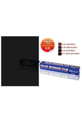 Rulo Cam Filmi S.Dark Black %5 (Süper Koyu Siyah) 75 cm x 6 MT 1004693