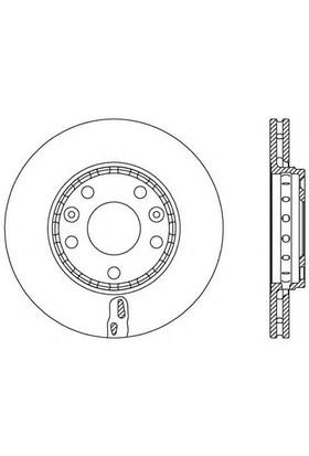 Maıs 402060010R Ön Fren Aynası Mgn Iıı-Fluence-Lgn Iıı-Scenıc Iıı 1.6-2.0-1.5 Dcı-Duster 1.5 Dcı (280X24x5dlhavalı)