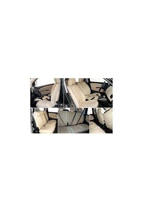 Z tech Fiat Linea Krem (Bej) renk araca özel koltuk kılıfı