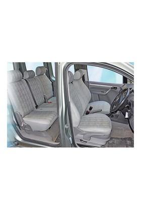 Z tech Fiat Grandepunto gri renk araca özel koltuk kılıfı