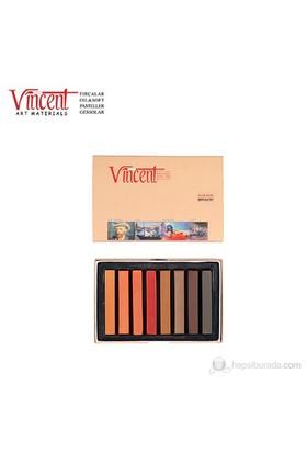 Vincent Soft Pastel Brown Selection 8'li Set