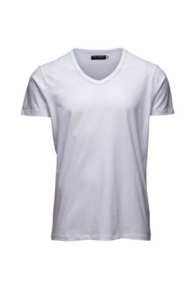 Jack & Jones T-Shirt Basic V-Neck 12059219-Opw