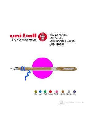 Uni-ball Signo Noble Metal Jel Mürekkepli Kalem 0,8 1'li (UM-120NM)