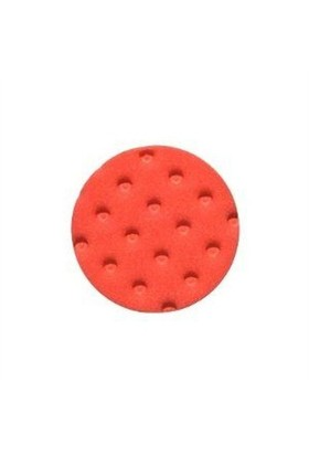 Lake Country Red Finessing Pad With Black Loop 152 Mm