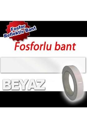 AutoCet 9,2 cm x 5 Metre BEYAZ Fosfor Bant (11642)